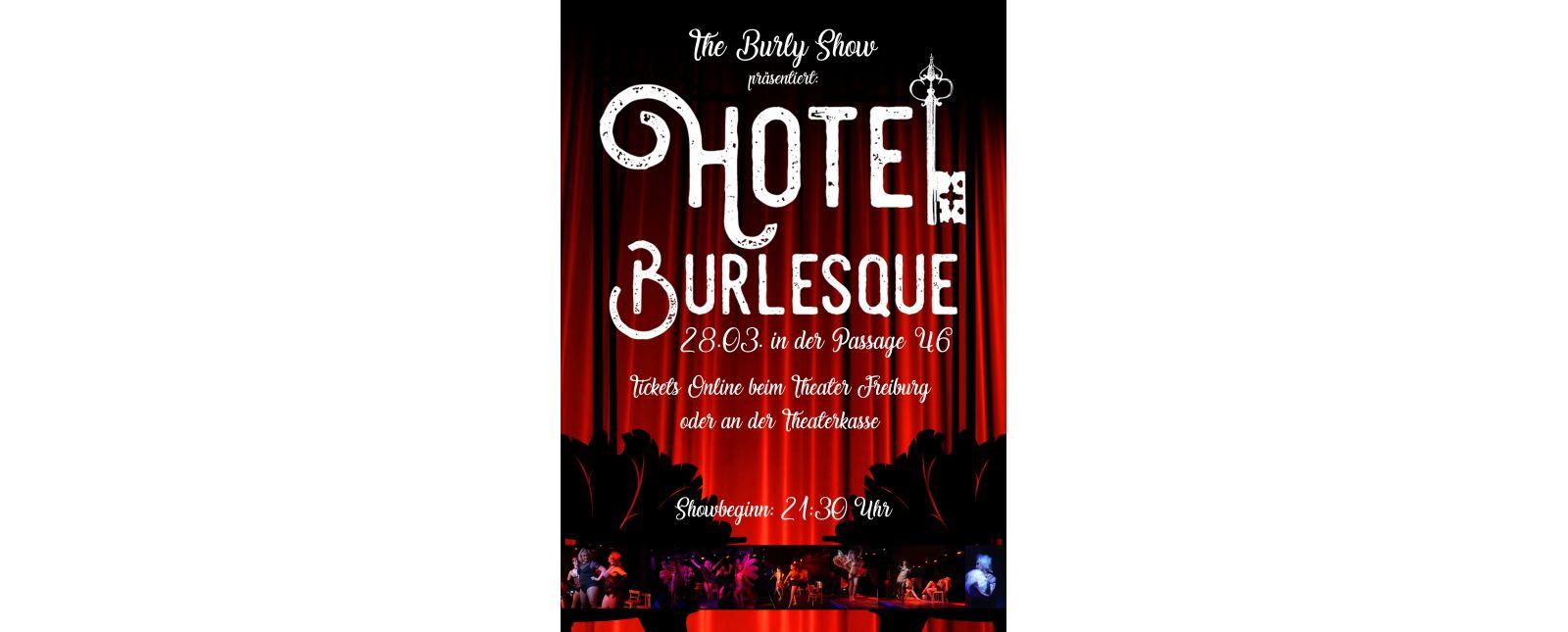 The Burly Show: Hotel Burlesque //  Elena Auerbach / 2018