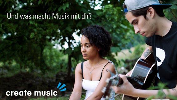Create music - Unterstützung für die junge Musikszene in Westfalen | Author