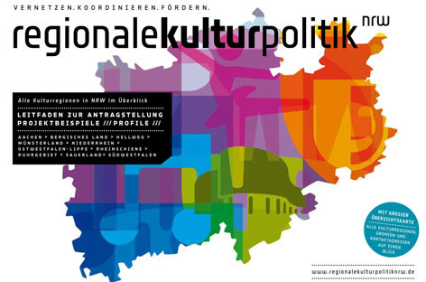 Broschüre Regionale Kulturpolitik NRW  | Author