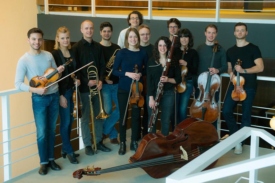 Akademisten des Orchesters © 2015, Bettina Stöß