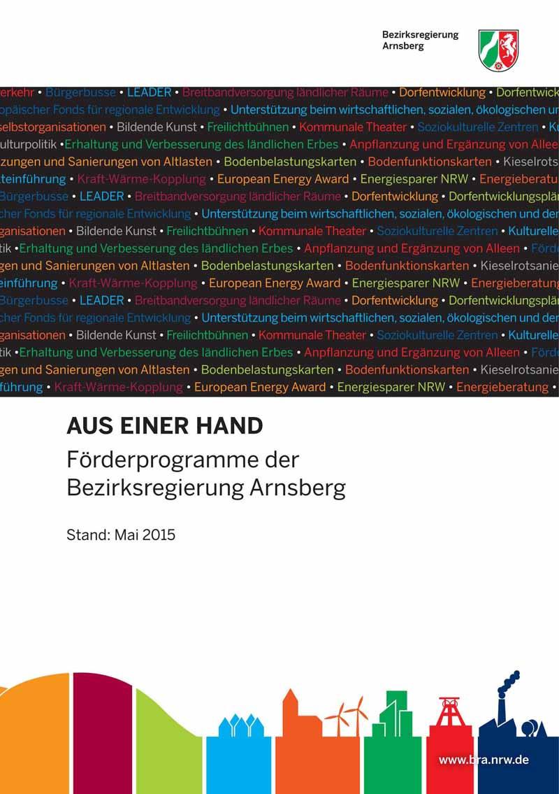 Förderlotse 2015 der Bezirksregierung Arnsberg | Author