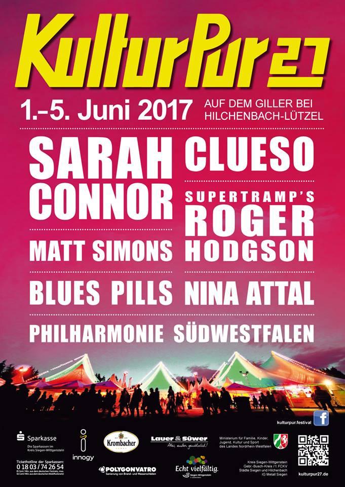 KulturPur27 auf dem Giller vom 1.bis 5. Juni | Author