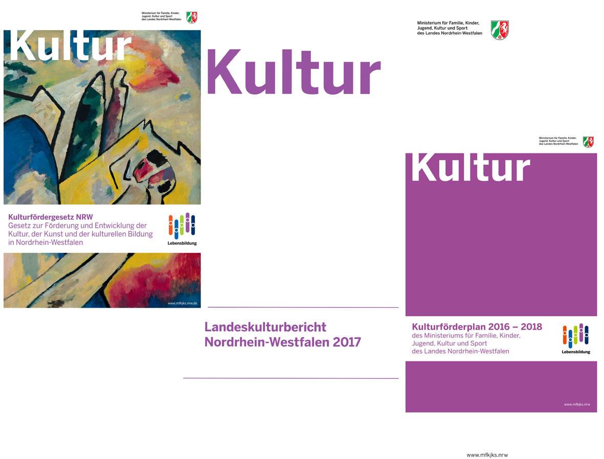 Kulturfördergesetz NRW - Landeskulturbericht 2017 - Kulturförderplan 2016-2018 | Author
