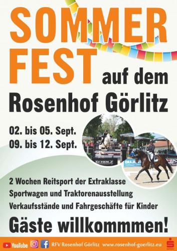 Görlitzer Summerweeks 2021 - Rosenhof Görlitz / ©