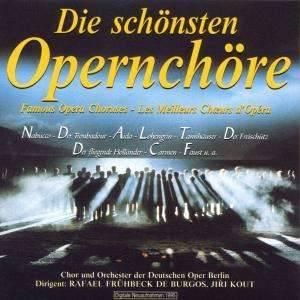 Opernchöre von Verdi, Bizet, Gounod, Weber, Wagner, Leoncavallo, Puccini, Mascagni Dirigent: Rafael Frühbeck de Burgos Chor & Orchester der Deutschen Oper Berlin 1 CD