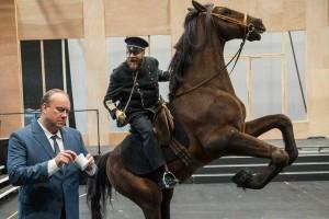 In den Proben zu WOZZECK | Deutsche Oper Berlin | Foto: Marcus Lieberenz