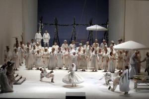 Eugen Onegin  | Deutsche Oper Berlin | Foto: Bettina Stöß