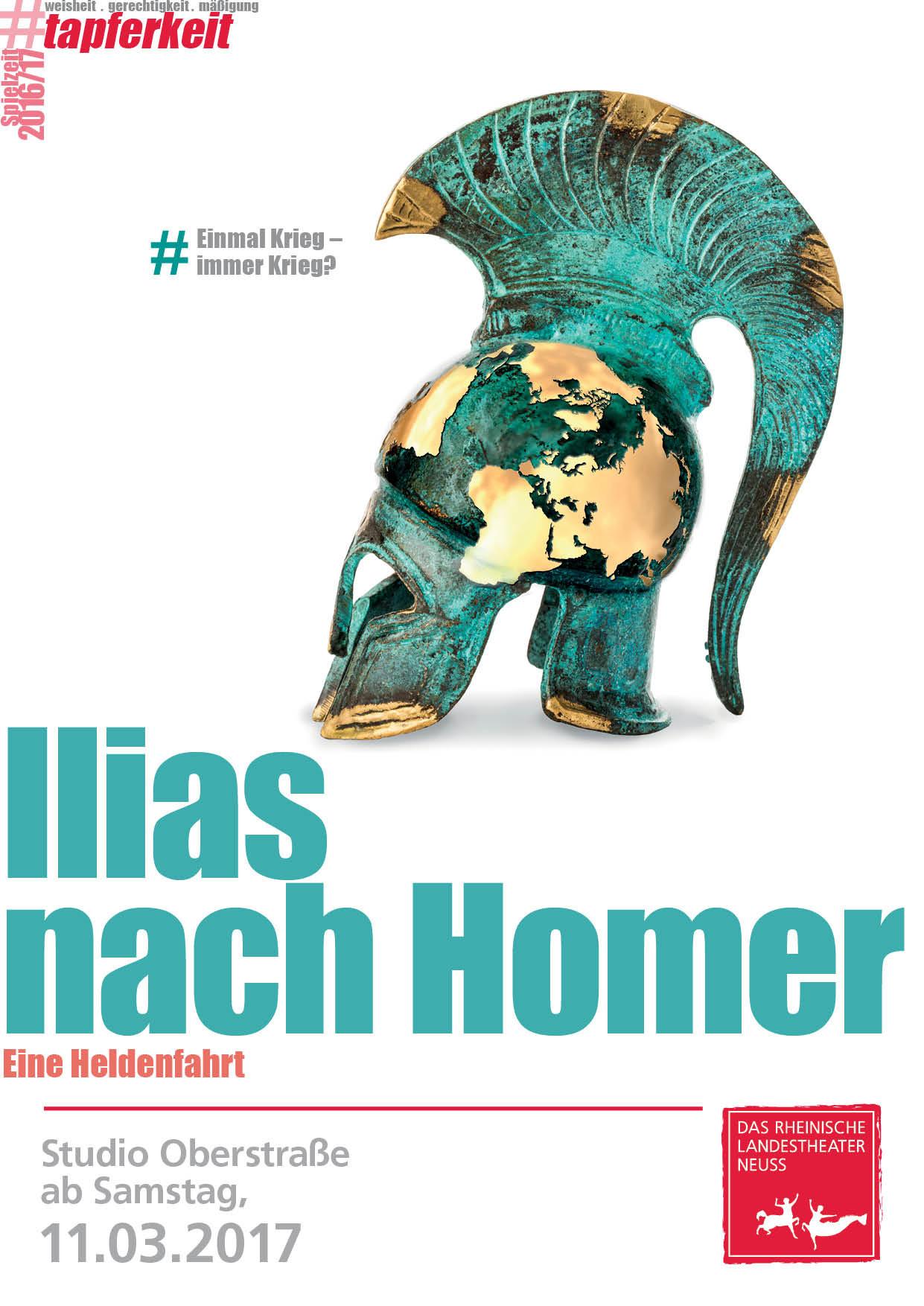 Ilias nach Homer -  Eine Heldenfahrt