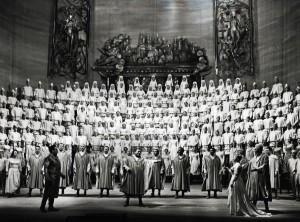 Die Meistersinger von Nürnberg | Foyer der Deutschen Oper Berlin | Foto: Ilse Buhs