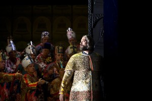Boris Godunow   Deutsche Oper Berlin   Foto: Bernd Uhlig