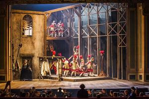 Xerxes | Komische Oper Berlin | Foto: Jaro Suffner