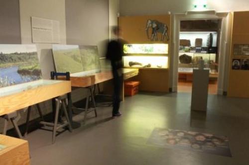 Führung in der Themenebene »Region« - »Besonderheiten der archäologischen Sammlung« ©