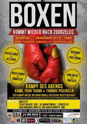 Boxen-Gala in Zgorzelec / ©