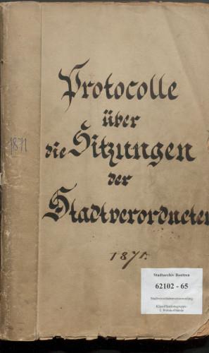 Treffpunkt Archiv: Parlamentarische Überlieferung im Stadtarchiv ©