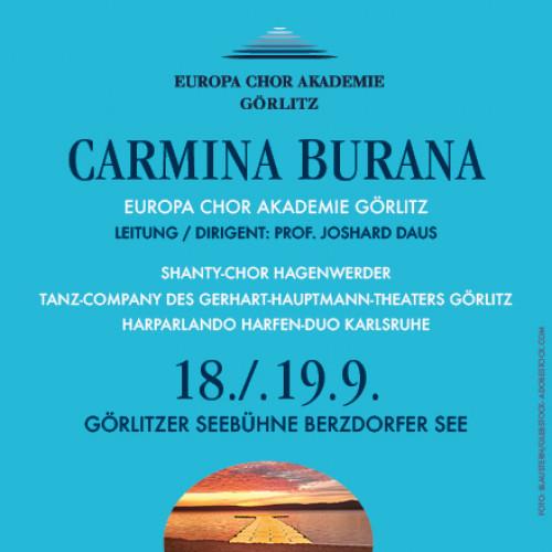 Carmina Burana auf der Seebühne Berzdorfer See und Landschaftsbühne DAS OHR Bärwalder See / ©