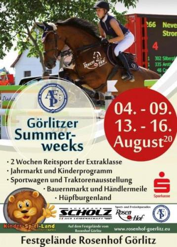 Görlitzer Summerweeks 2020 - Rosenhof Görlitz / ©