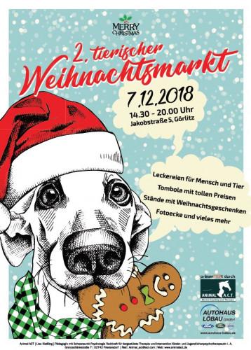 2. Tierische Weihnachtsmarkt  / ©