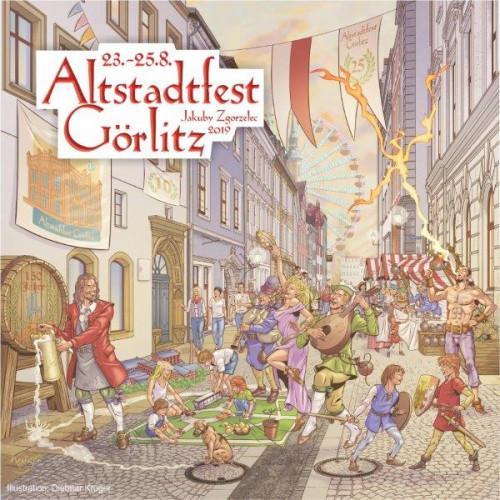 Görlitzer Altstadtfest 23.-25. August und Jakubyfest Zgorzelec / ©