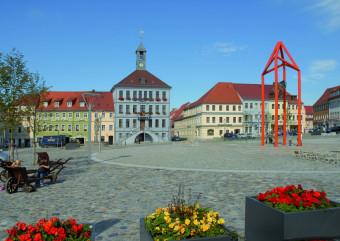 Altmarkt mit Mediaturm