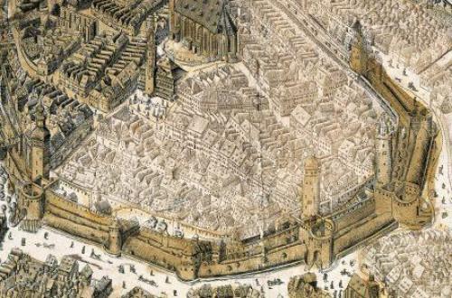 Von Türmen, Toren und Rondellen  ̶  Führung durch die Themenebene »Stadt«  ©