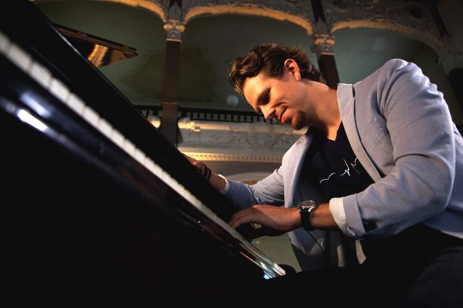 Martin Herzberg - Ein bewegendes Klavierkonzert unter Sternen