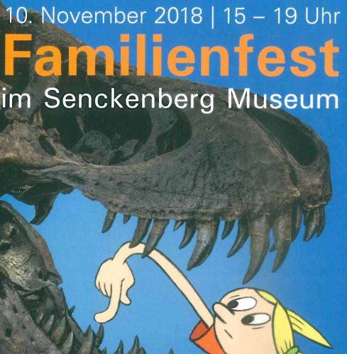 Familienfest im Senckenberg Museum / ©