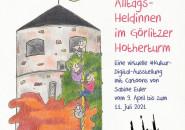 virtuelle Cartoon-Ausstellung - Sabine [Euler] im Mutterland online in der Kunstbastei Hotherturm - mutterland.fvks.eu