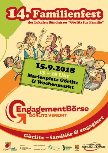 Familienfest & EngagementBörse Görlitz / © 2018, Görlitz für Familie e.V.