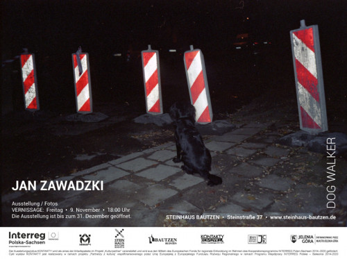 "Vernissage: ""Dog Walker"" von Jan Zawadzki ©"