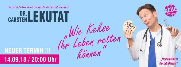 """Wie Kekse Ihr Leben retten können"""" Comedy-Abend mit Dr. Carsten Lekutat ©"""