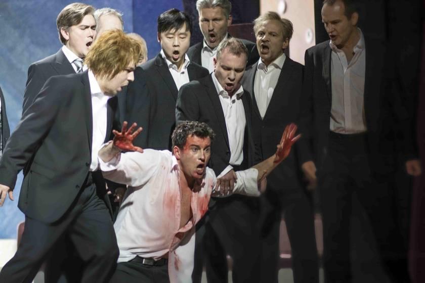 ERMIONEAshley Catling und Herren des Opernchors   Frank Hormann