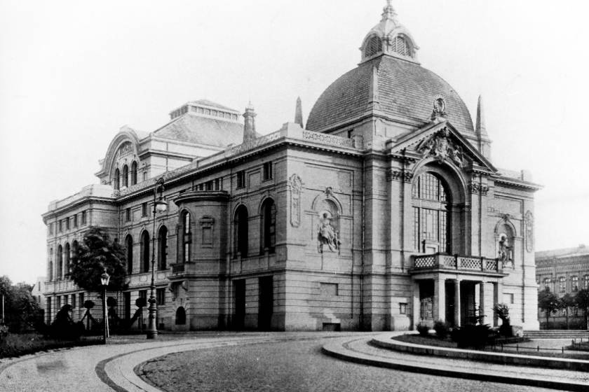 Rostocker Stadttheater 1938 |