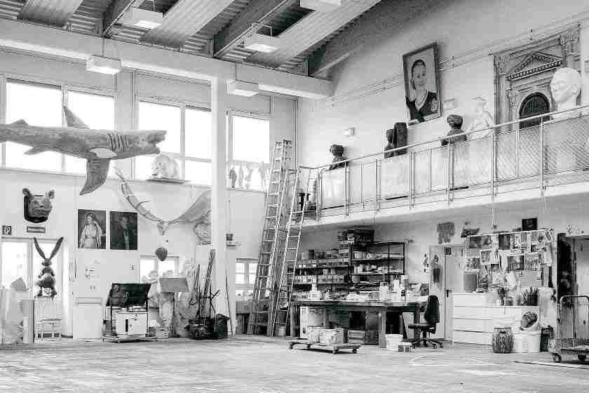 Malsaal des Volkstheaters Rostock | Volker Metzler