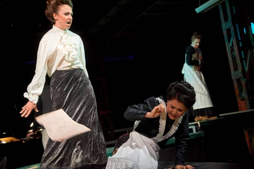 LA SIGNORA DORIA | Anna-Maria Kalesidis und Jamila Raimbekova | Thomas Häntzschel