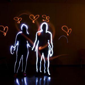 Lichtgrafitti - Wir Malen...mit Licht